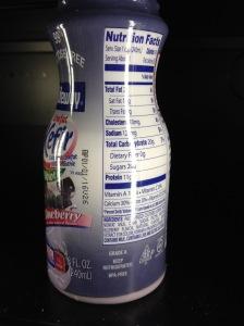Kefir- 20 grams of sugar