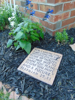 one of my scripture stepping stones