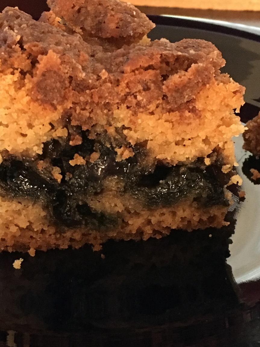 Blueberry Coffee Cake (gf/df)