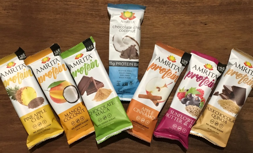Product Review: Amrita Protein Bars