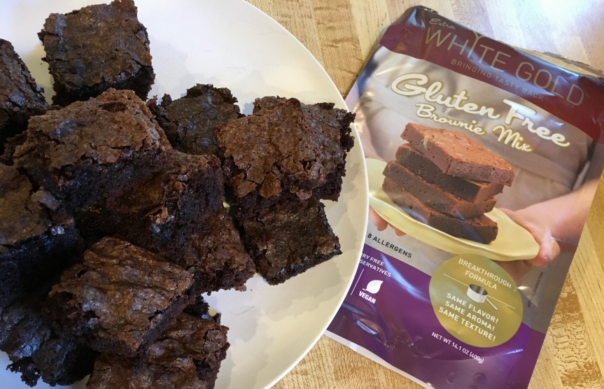 Product Review: Extra White Gold Brownie Mix